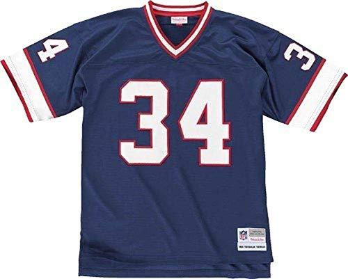 Mitchell & Ness Buffalo Bills 1990 Thurman Thomas #34 Replica Throwback Jersey (XL) Blue
