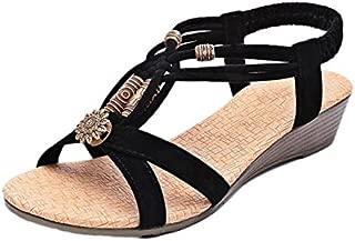 roman sandals buckle peep toe