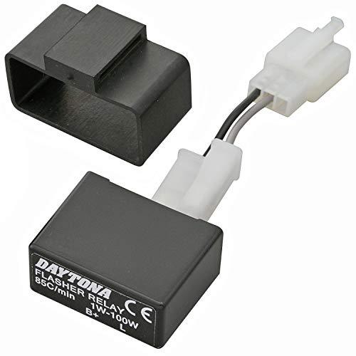 デイトナ バイク用 ウインカーリレー LED対応 2ピン (1W~100W) 99989