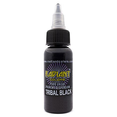 Authentic Radiant Black Tattoo Ink