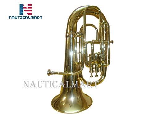 Bb/F 4 Valve Flat Brass Finishing Euphonium