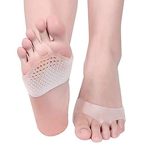 Pedimend – High Heels Aufkleber aus Silikongel für Herren und Damen – Gel-Pads für Schuhe und Metatarsalgie, perfekt für Läufer Gr. One size, 2 Paar