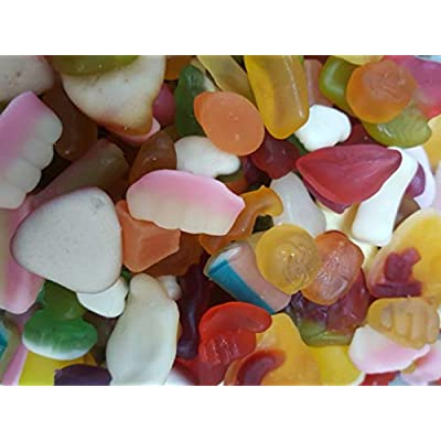 super mix sweets gummy favourites variety halal (1000g) Super Mix Sweets Gummy Favourites Variety Halal (1000g) 41yVLie63gL