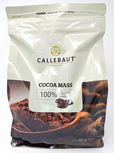 Callebaut – feinste belgische 100% Kakaomasse (Kalette) – 2,5 kg
