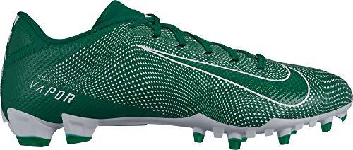 Nike Men's Vapor Untouchable Speed 3 TD Football Cleats - Green/White,10.5M US