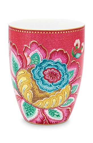 Pip Studio Trinkbecher Jumbo Flower | Pink - 300 ml