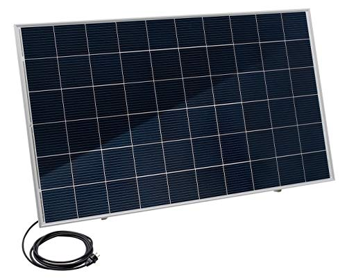 Home-Solar-Modul 320Wp, HSM320VEL5S. Produziere eigenen Strom mit unserem hochwertigen Balkonkraftwerk (HSM310 + Ständer + Anschlusskabel 5m)