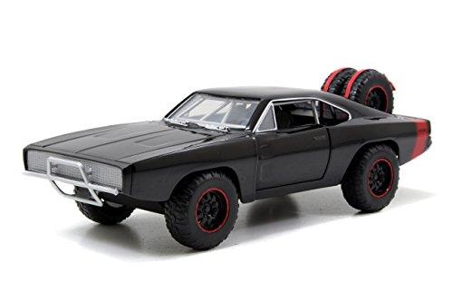 Jada - Fast & Furious Dodge Charger Offroad de 1970 en échelle 1:24 Die-Cast, Fonctionnement à Roue Libre, Parties ouvrables, 253203011