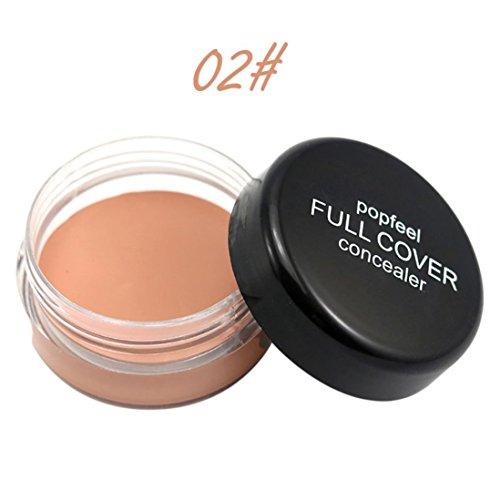 Gaddrt Popfeel Cache maquillage visage, palette Fondation crème hydratante (B)