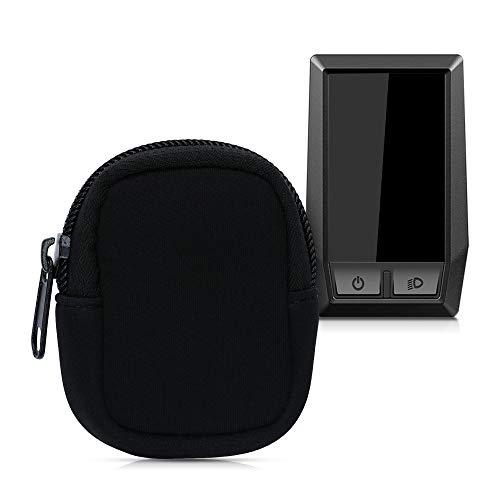kwmobile Tasche kompatibel mit Bosch Kiox - E-Bike Computer Neopren Hülle - Schutztasche Schwarz