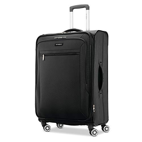 Samsonite Ascella X Softside Expandable Luggage with Spinner Wheels, Black