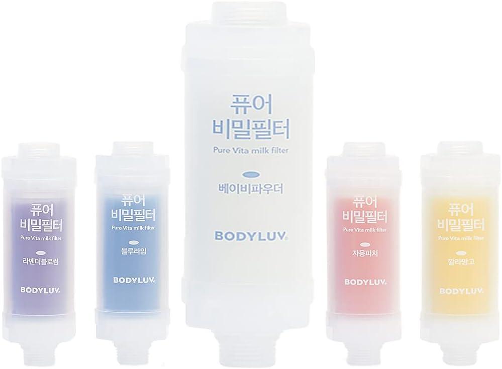 Max 67% OFF BODYLUV Puresome Vita Milk Shower Chlorine 2021 autumn and winter new Removes Filter Pr -