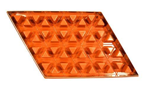 Zila Tortenform, Silikon Backform Raute für 40 Dreiecke