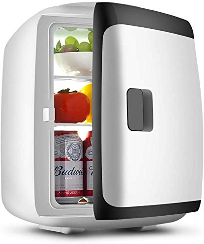 RENXR Nevera Portátil 13L Mini Enfriador Y Calentador para Bebidas, Cosméticos/Maquillaje, Alimentación De CA/CC, para Dormitorio, Hogar, Caravana, Coche