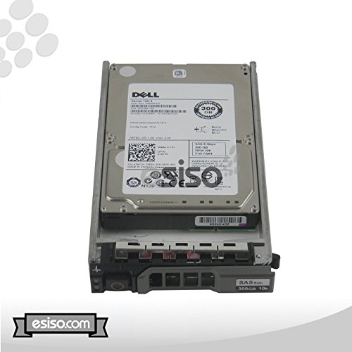 Dell 300GB SAS 10K RPM 6Gbps 2.5'' Hard Drive For Dell PowerEdge R410 T410 R610 T610 R710 T710 M600 M605 M610 M710 M805 M905 Servers M1000e MD1120 Storage Arrays