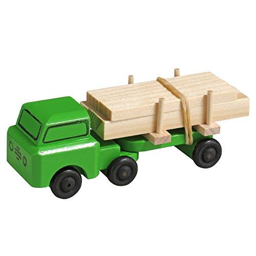 Rudolphs schatkist lastauto oplegger lang hout houten auto Ertsgebergte NIEUW