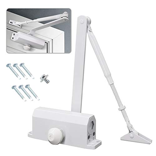 MARIE Hydraulic Spring Door Closer Soft Close Size 2 with Automatic...
