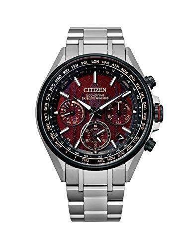 シチズン 腕時計 アテッサ エコ・ドライブGPS衛星電波時計 F950 ダブルダイレクトフライト JOUNETSU COLLECTION 世界限定1,100本 CC4005-71Z