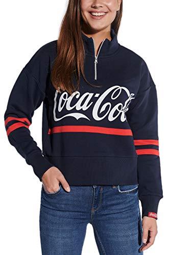 Coca Cola - Sudadera corta para mujer