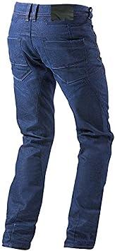 8XL Noir, 66 Longue//Taille 50 longueur 34 Jet Pantalon Moto Homme Jeans Kevlar Aramid Avec Armure