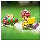Toppers para Tartas Modelo de Anime de 70 mm de Juguete PVC Figuras de acción de Juego de Juguetes coleccionables Regalo (Color : No Retail Box)