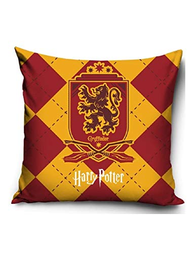 Harry Potter, cuscino Gryffindor, 40 x 40 cm, 100% poliestere