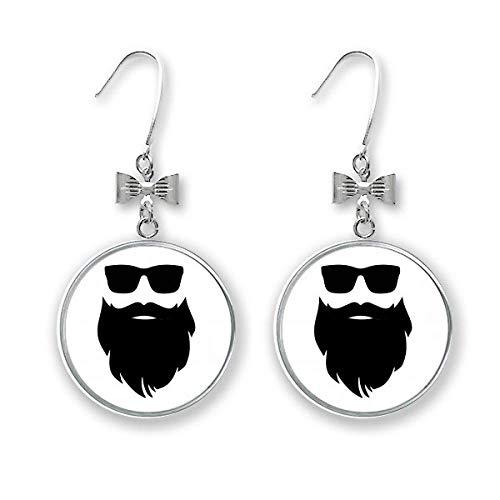 Shadow Ohrringe, Ohrhänger für Bart und Sonnenbrille