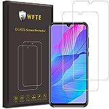 WFTE [2-Pack] Protector de Pantalla para Huawei P Smart S/P Smart 2020,9H Dureza,Huellas Dactilares Libre,Sin Burbujas,Cristal Templado Huawei P Smart 2020