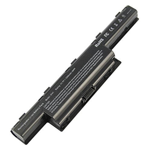 ARyee 5200mAh Laptop Battery for Acer Aspire 5742 5741 5733 5750 5749 5560 4253 4551 4552 4738 4741 4750 4771 5251 5253 5551 5552 7551