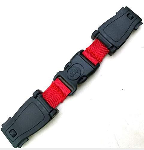 2pcs Autositz Brustgurt Clip, Kindersicherheitsgurt Schnalle Gurt Gurt für Kinder, tragbare Kleinkind einstellbare Sperre Tite Guard Rot, Universal