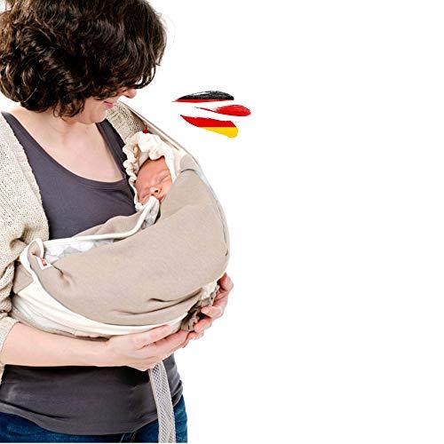 Lodger Shelter 2.0 - Mochila portabebés, 3 en 1, portabebés, portabebés, así como manta de transporte para bebés y padres, desde el nacimiento hasta los 18 meses (máx. 12 kg)