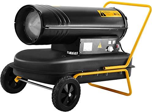 MGWA-Heizung Industrial Diesel-Lüfterraum - tragbare Räder mit hoher Duty 30kw röhrenförmig mit eingebautem Thermostat und automatischer Überhitzungssicherheit abspüren - Lager, Werkstatt, Fabrik, Gar