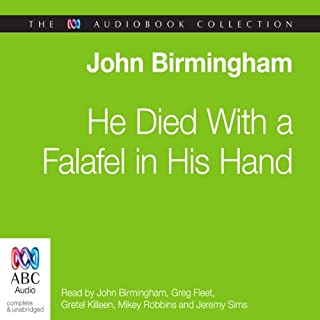 He Died with a Falafel in His Hand cover art