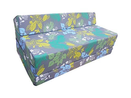 Natalia Spzoo Colchón plegable cama de invitados forma de sillón sofá de espuma 200 x 120 cm (Style)