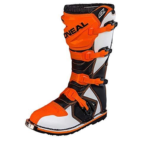 O'Neal Rider Boot MX Stiefel Orange Moto Cross Motorrad Enduro, 0329-3, Größe 45 - 6