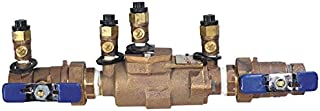 Febco 2615 850U-QT Double Check Backflow Valve with Union Connections Quarter Turn Shutoff, 1-1/2