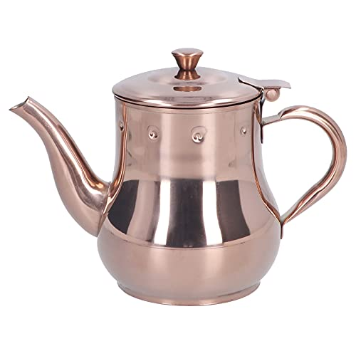 SALALIS Cafetera, Tetera Multifuncional Elegante con Cubierta a Prueba de Polvo para restaurantes para el té de la Tarde para la Familia
