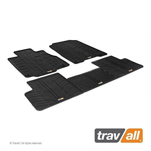 Travall Mats Gummifußmatten Kompatibel Mit Honda CR-V (2012-2017) TRM1222 - Allwettermatten Nach Maß Fussmatten Set
