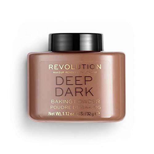 Revolution - Puder - Loose Baking Powder - Deep Dark