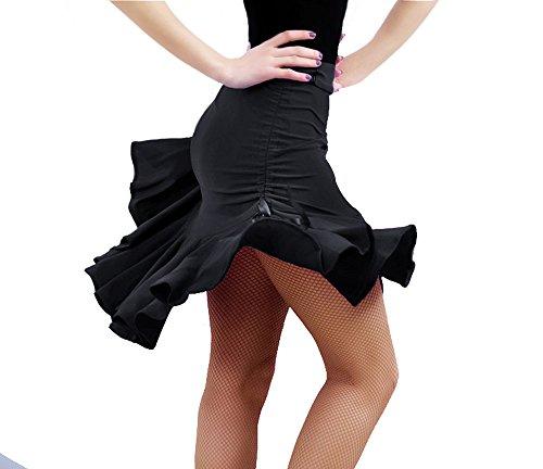 KAI-ROAD Womens Latin Dance Skirt Ballroom Tango Swing Rumba ChaCha Dancing Costume Dress