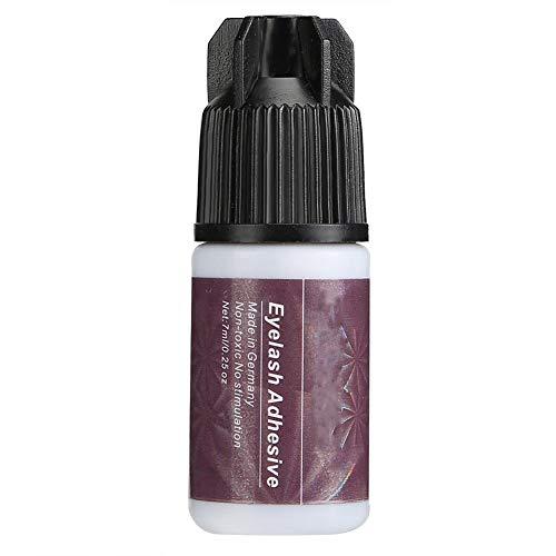 Colle d'extension de cils, colle de maquillage rapide pour les cils secs fortement collants et rapides, petite bouteille violette(VIOLET)