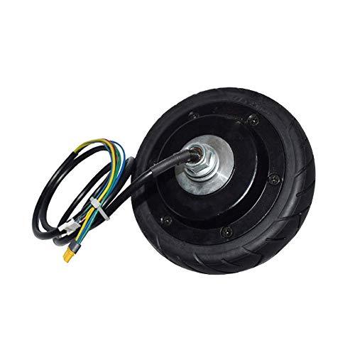Neumáticos, Scooter eléctrico, Motor de Movilidad para Scooter de 5,5 Pulgadas Motor de tracción Delantera sin escobillas de imán Permanente de Alto Rendimiento, Adecuado para Mini Scooter