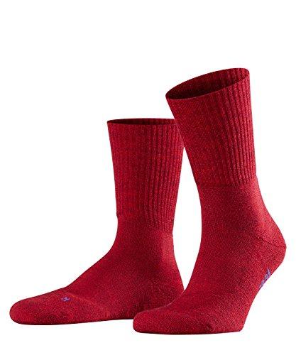 FALKE Unisex Socken, Walkie Light U SO-16486, Rot (Scarlet 8280), 44-45