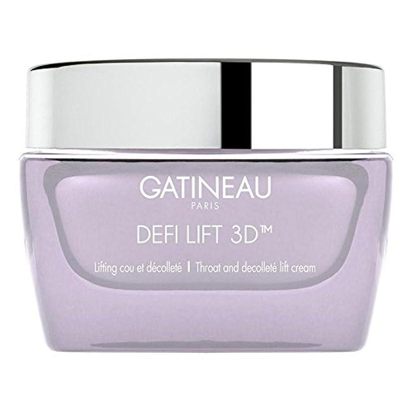 応じる煙りんごGatineau DefiLIFT 3D Throat and Decollette Lift Cream 50ml (Pack of 6) - ガティノー 3喉とリフトクリーム50 x6 [並行輸入品]