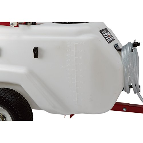 Best for commercial use:NorthStar Tow-Behind Trailer Boom Broadcast and Spot Sprayer