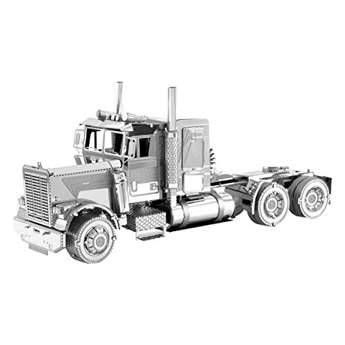 Metal Earth Fascinations Freightliner, Camión de punta larga FLC - Kit de...
