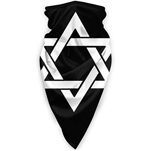 KKs-Shop Authentisch jüdischer Unisex Windproof Sports Outdoor Polyester Shield Schal Bandana HFB-1463