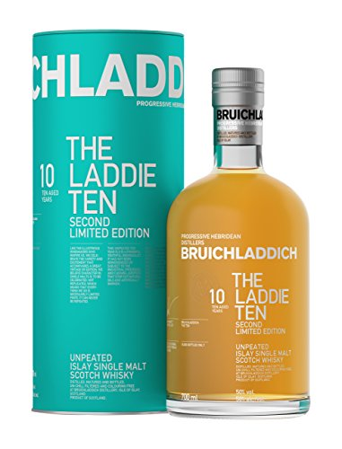 Bruichladdich The Laddie Ten 10 Years Old Unpeated Limited Edition Whisky mit Geschenkverpackung (1 x 0.7 l)