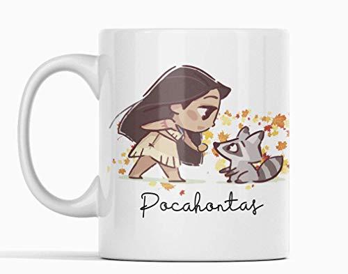 Desconocido Taza Pocahontas. Princesa Película Disney