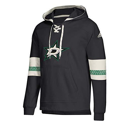 adidas Dallas Stars Vintage NHL Jersey Hoodie Schwarz, XL